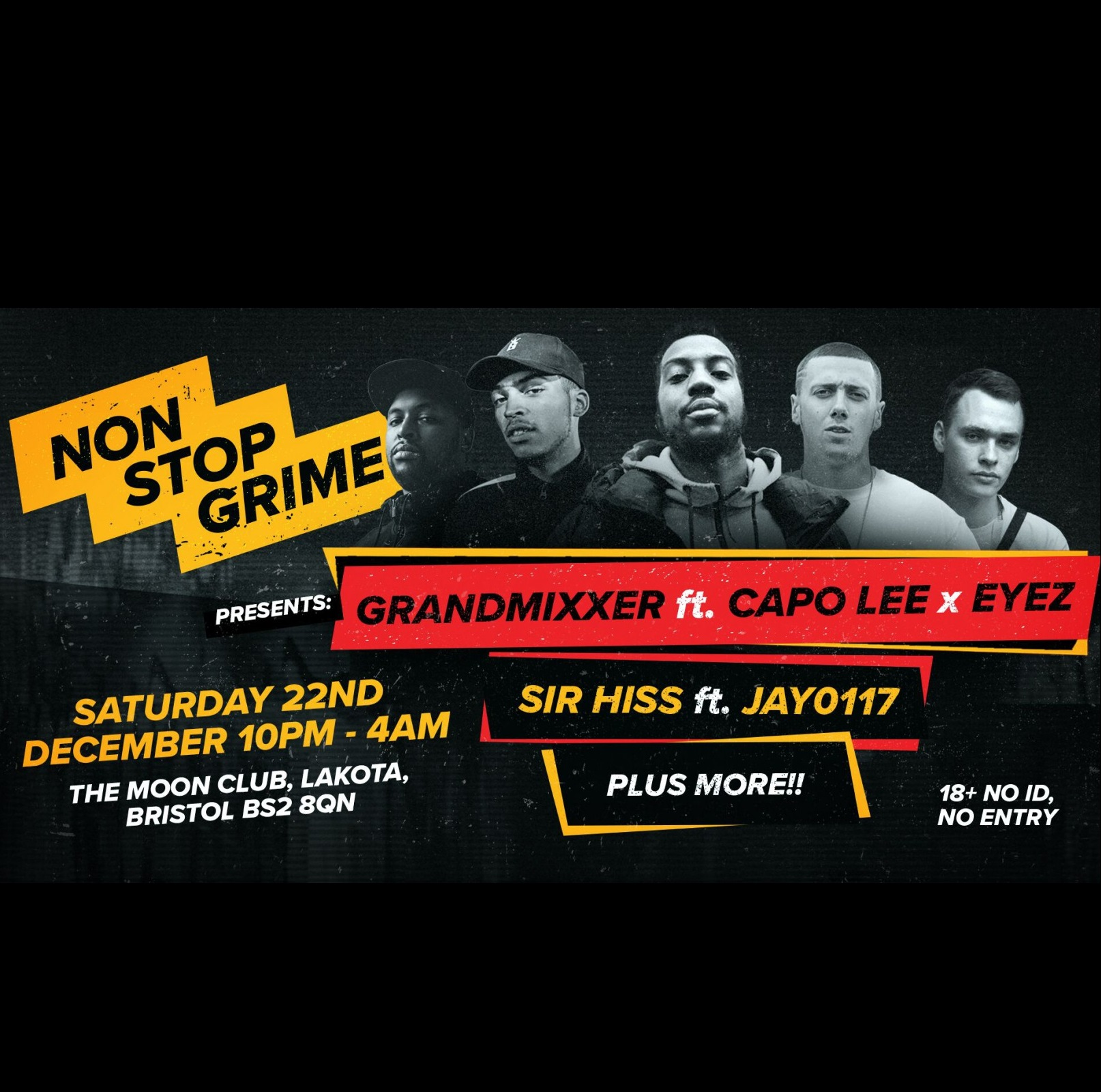 NonStopGrime presents: Grandmixxer ft Capo Lee x Eyez