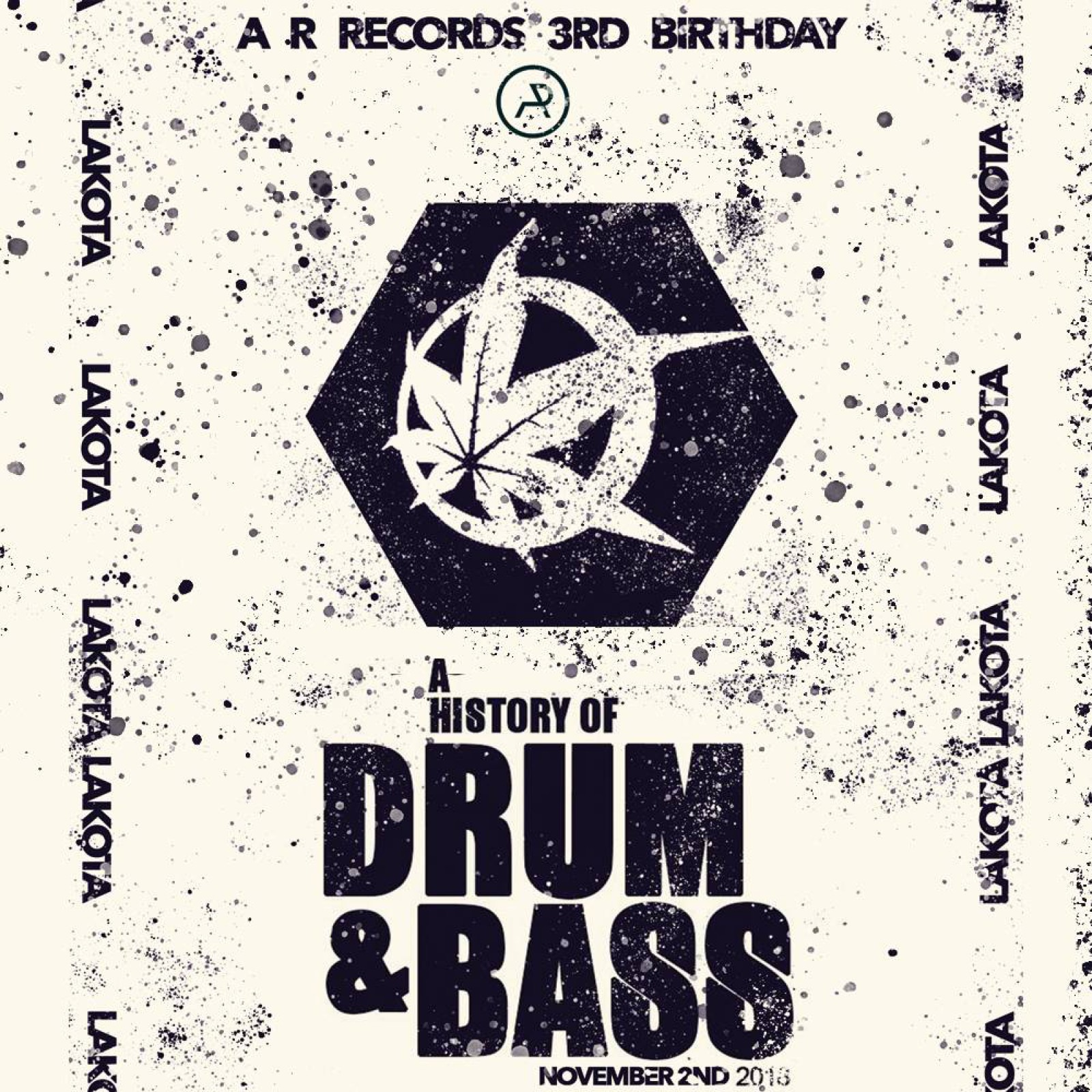 History of Drum & Bass X A R Records // G Dub £1 entry
