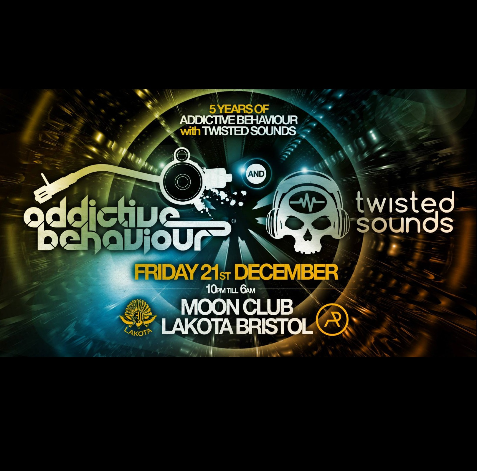 5 Years of Addictive Behaviour with Twisted Sounds
