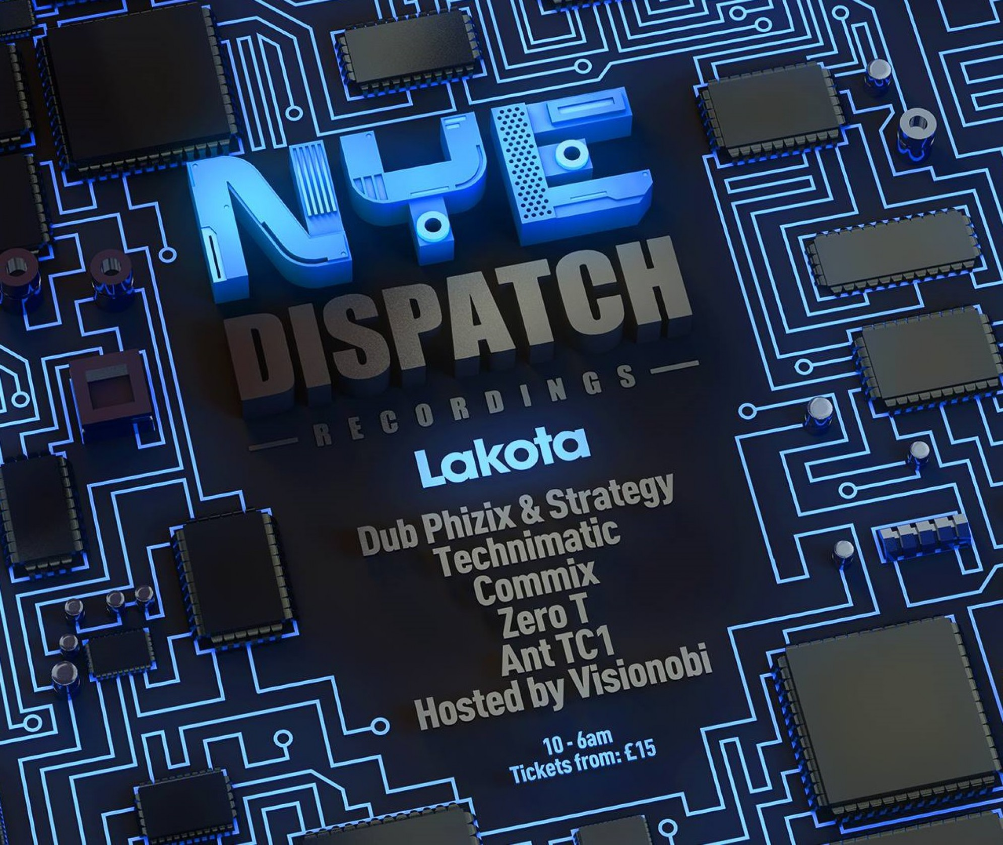 Lakota's NYE: Dispatch Recordings Takeover