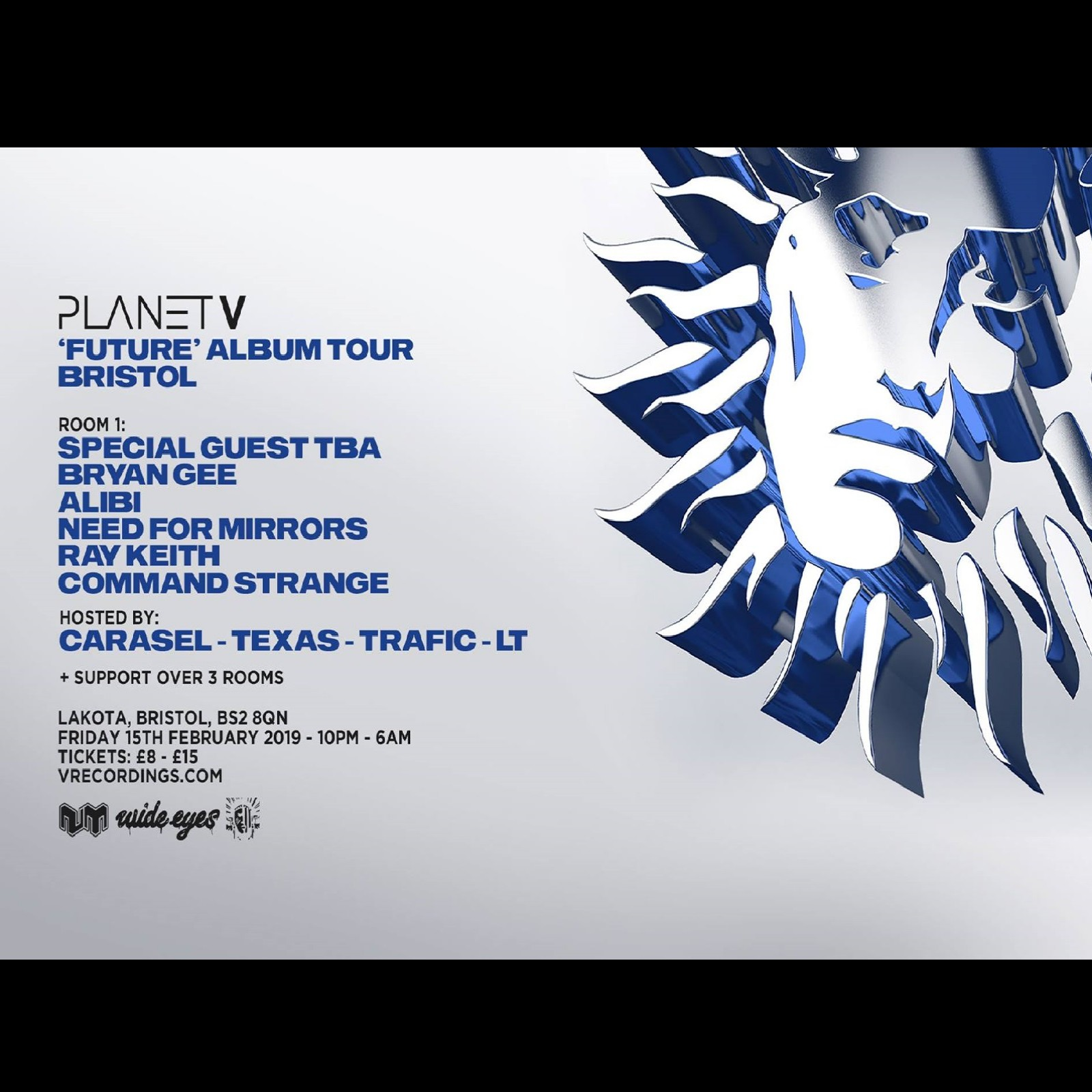 Planet V Future Tour: Bristol
