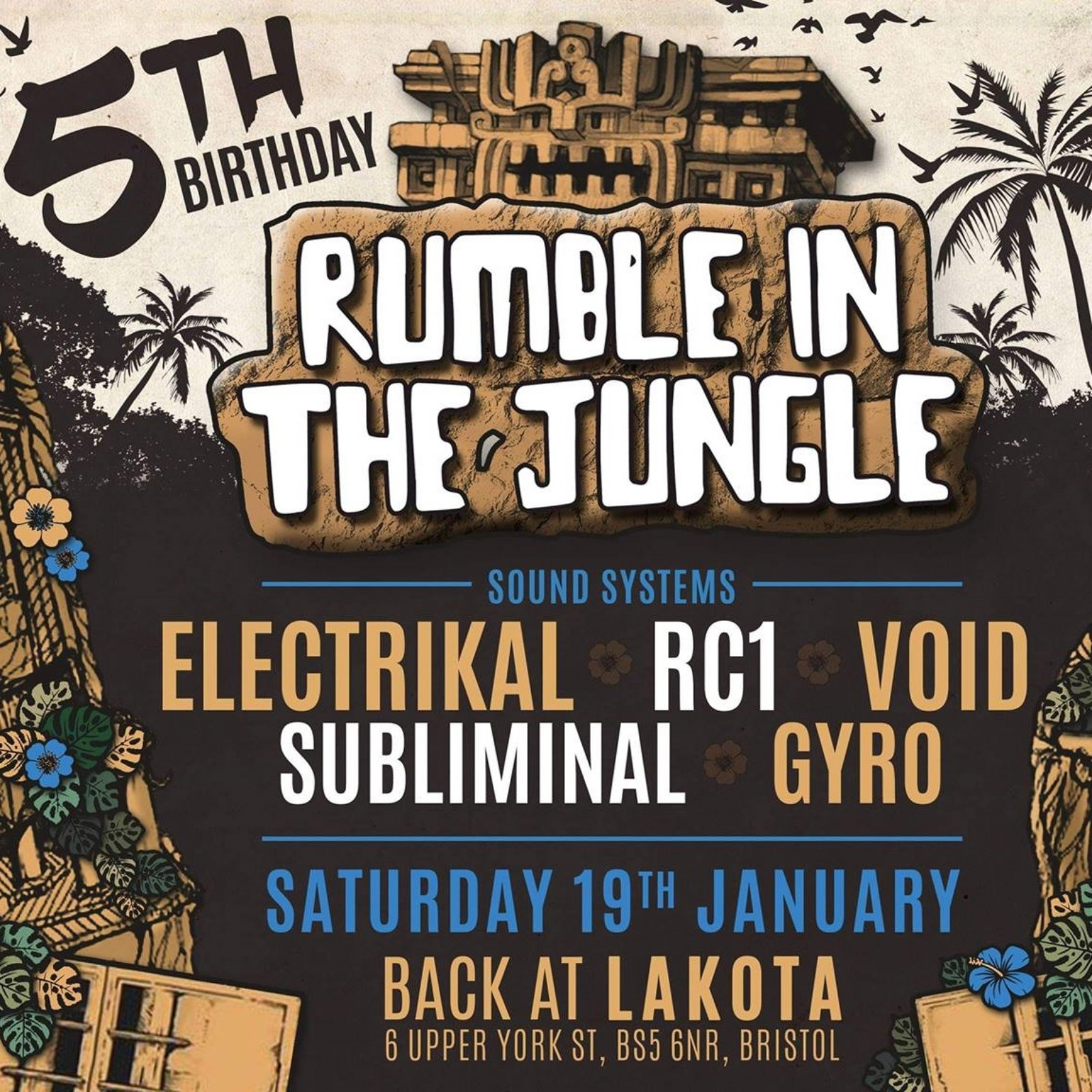 Rumble In The Jungle: 5th Birthday