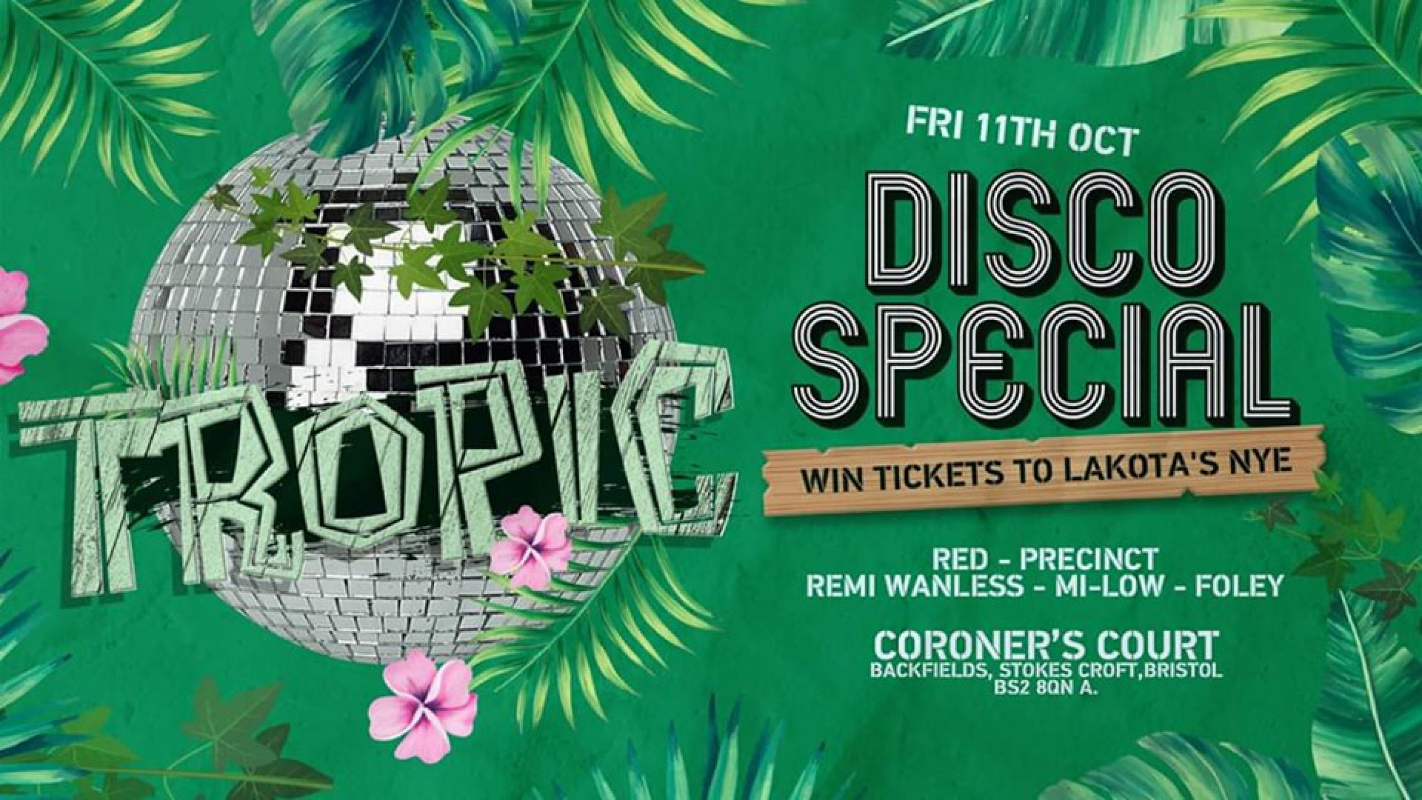 Tropic: Disco Special Launch Party
