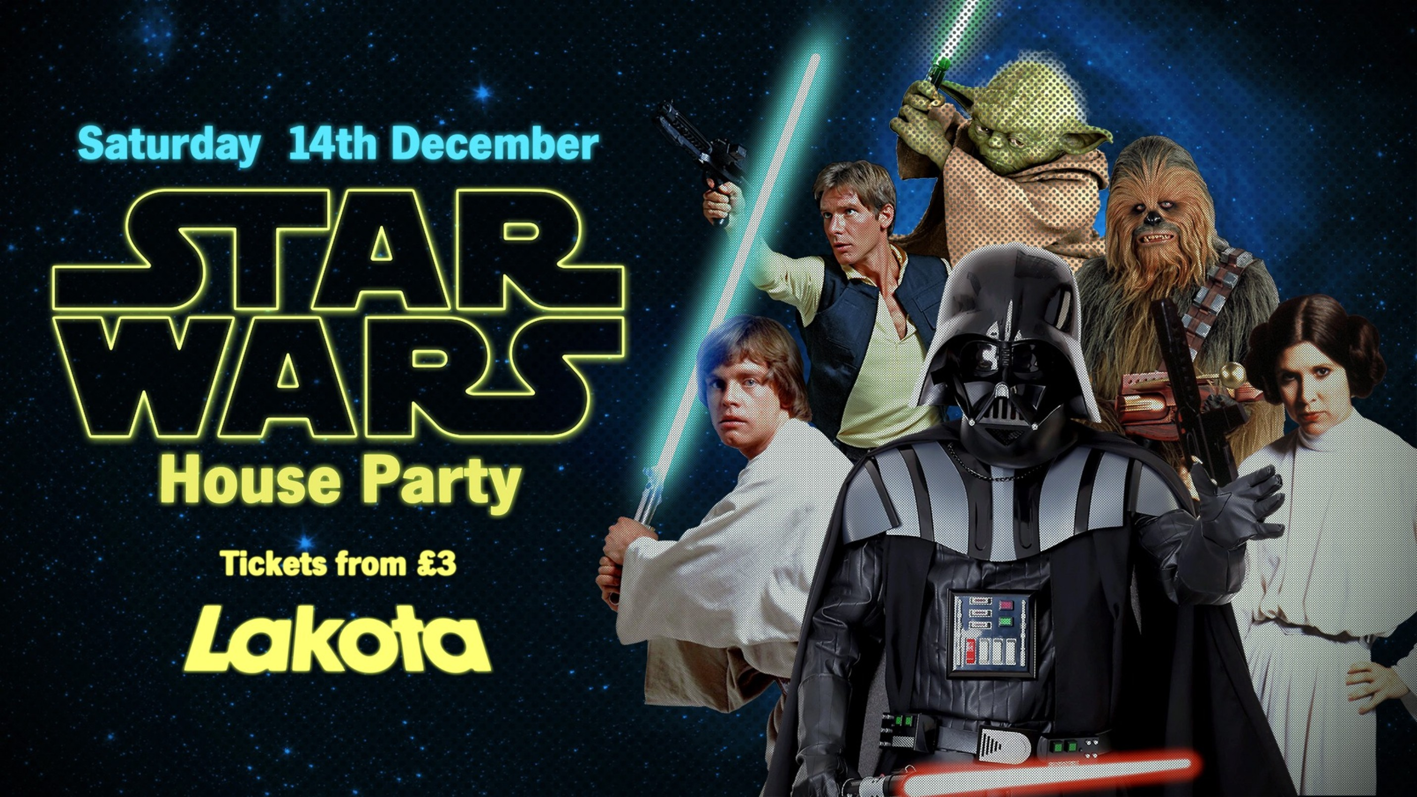 Star Wars House Party