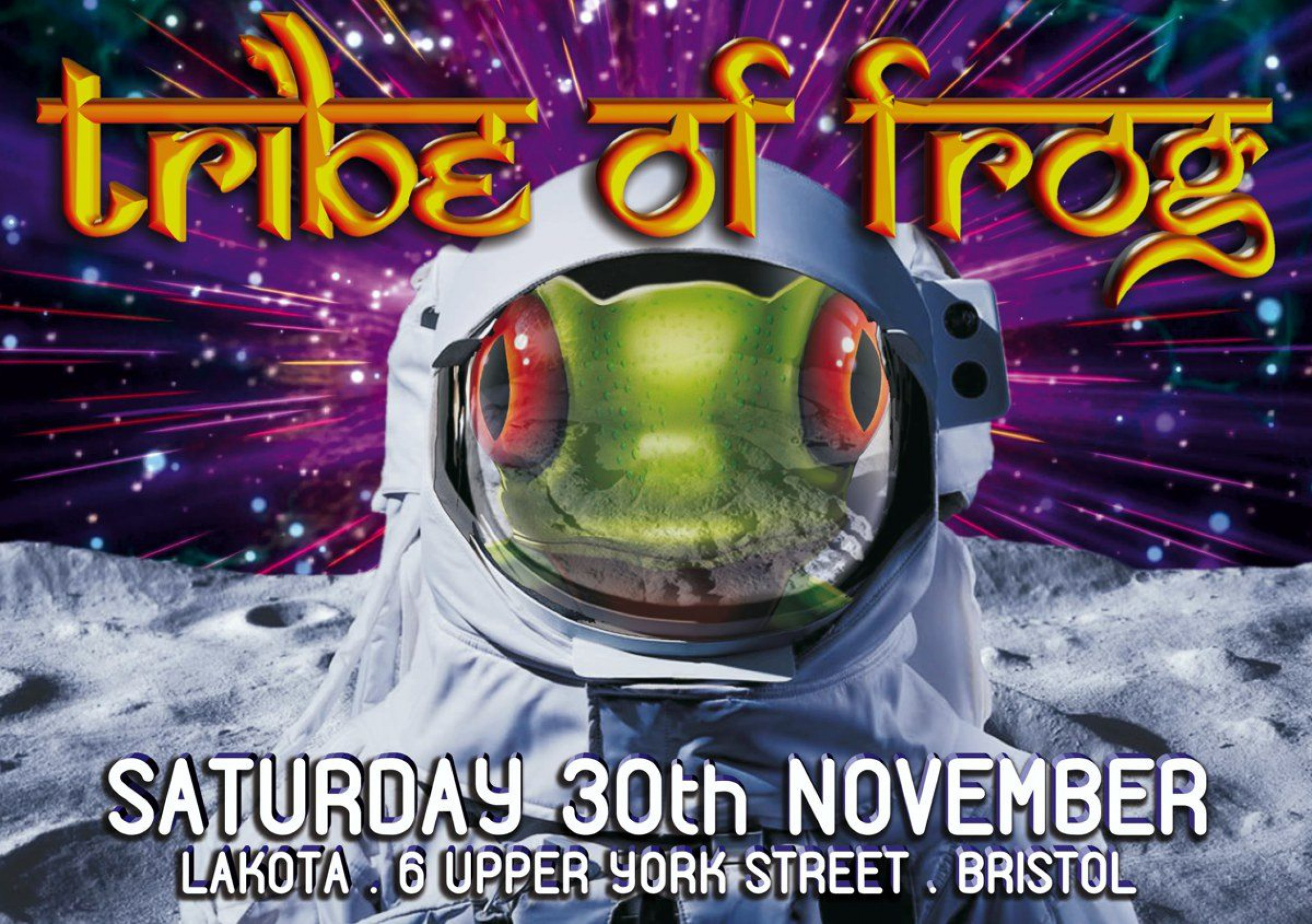 TRiBE of FRoG – Intergalactic Space Frog – 2019 Finale