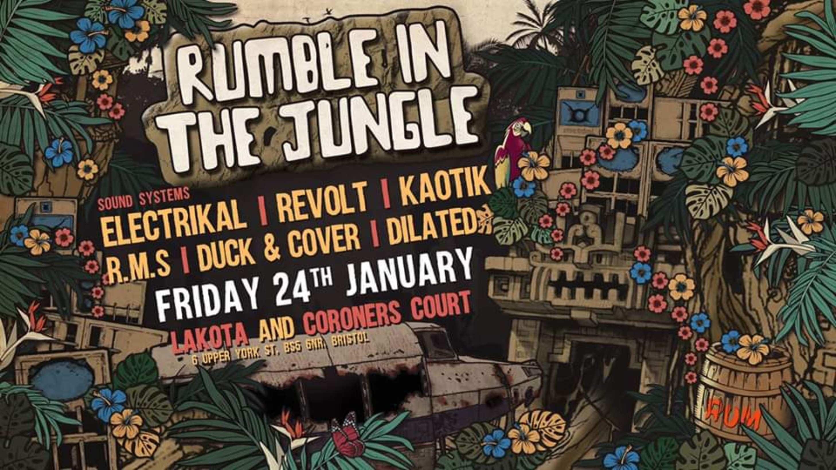 Rumble In The Jungle – The 6th Birthday Extravaganza