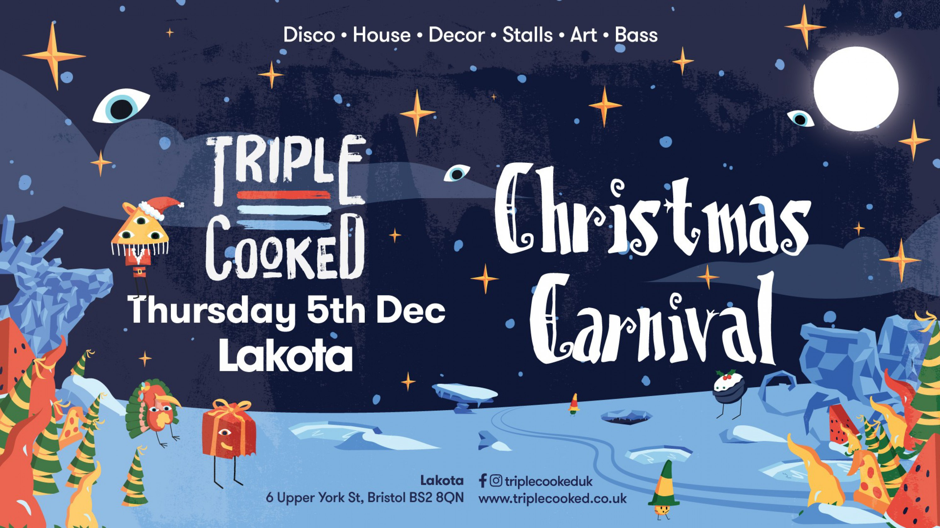 Triple Cooked: Bristol – Christmas Carnival