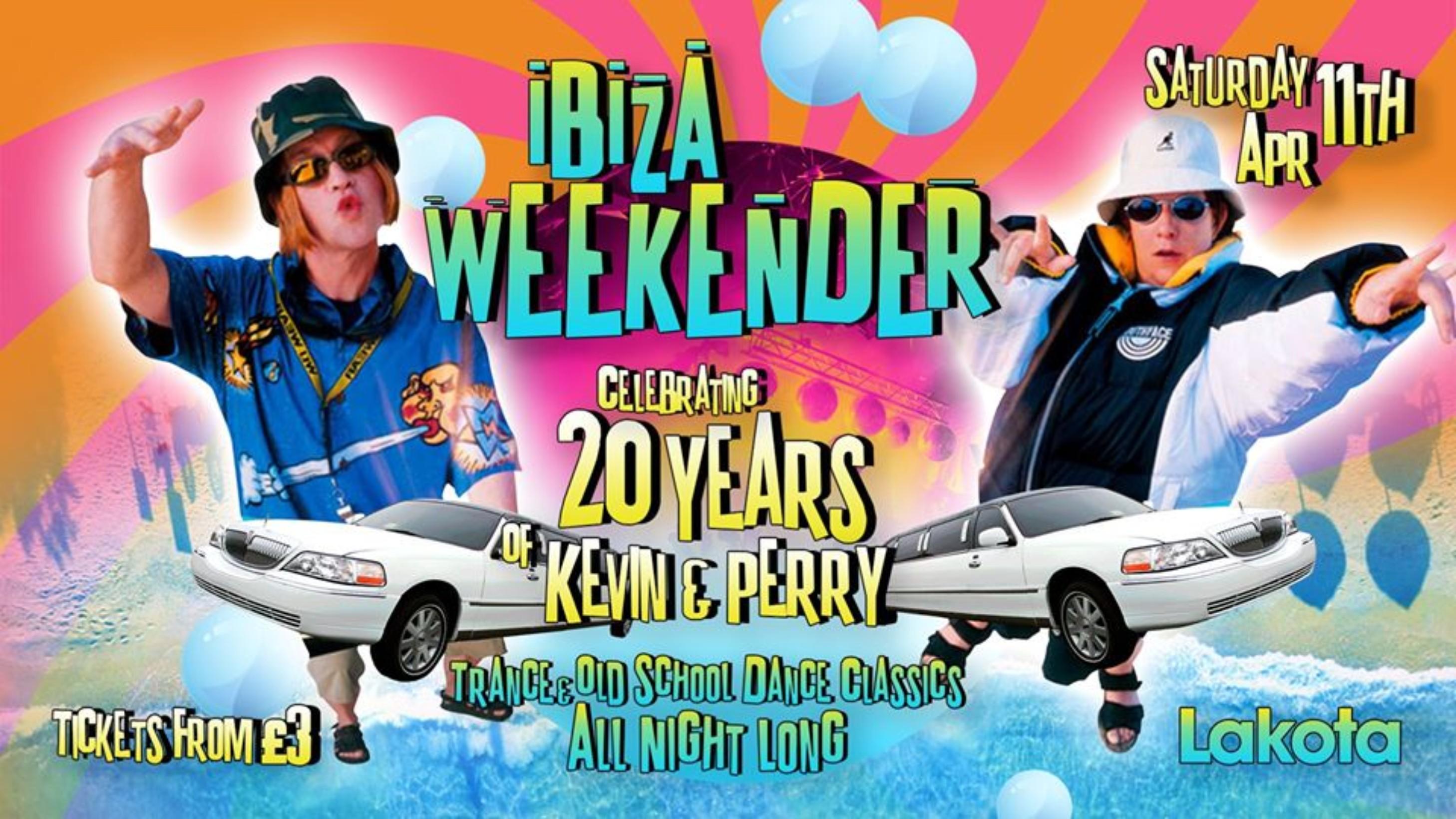 Ibiza Weekender: 20 years of Kevin and Perry!