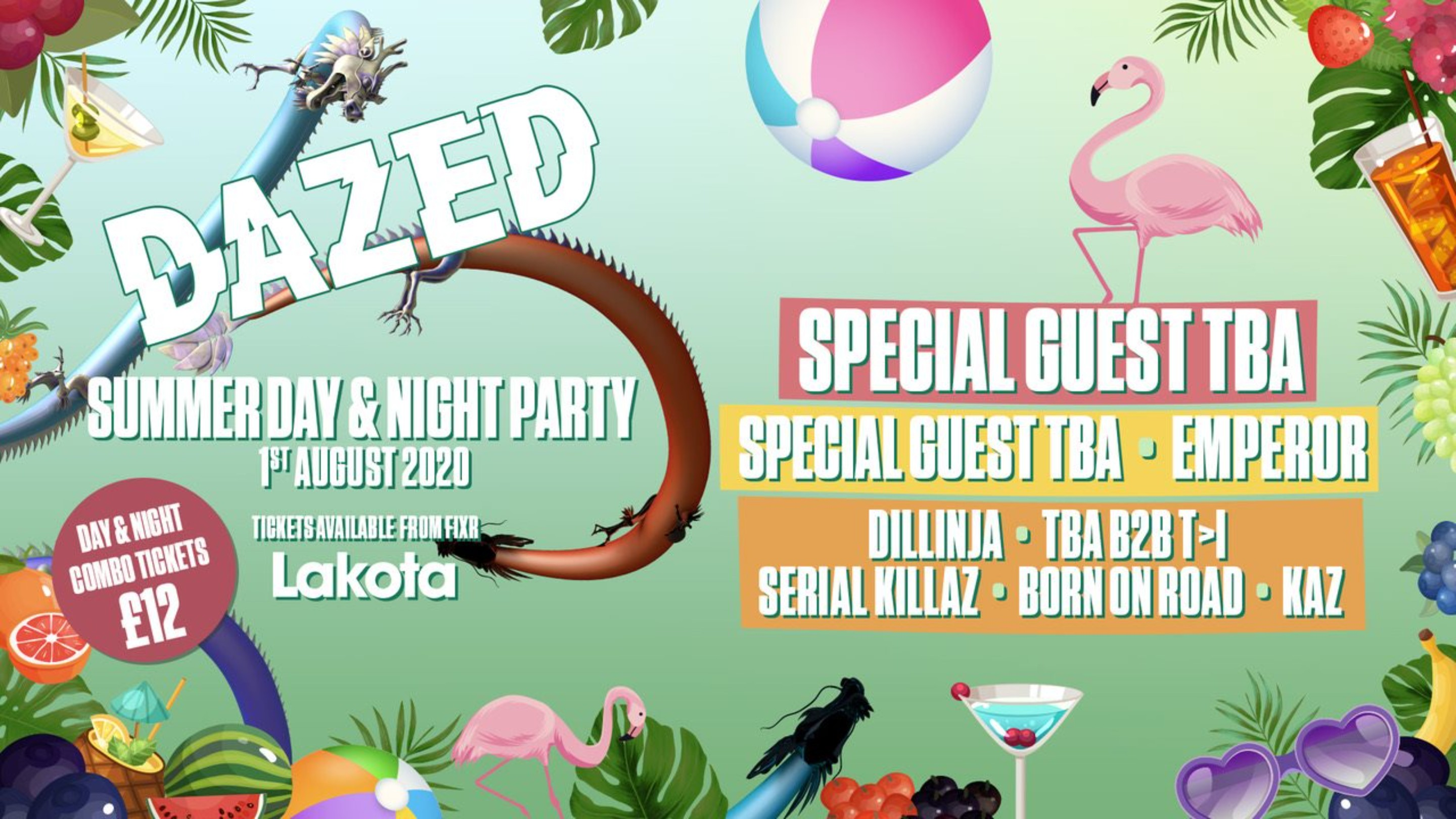 Dazed: Summer Day & Night Party