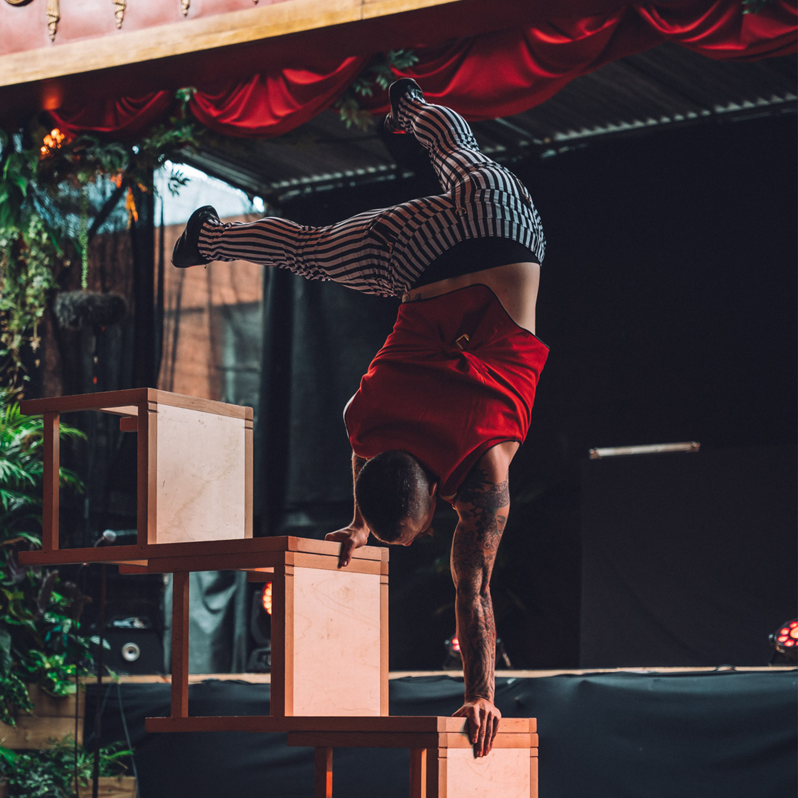 Invisible Circus: Fire Storm Cabaret