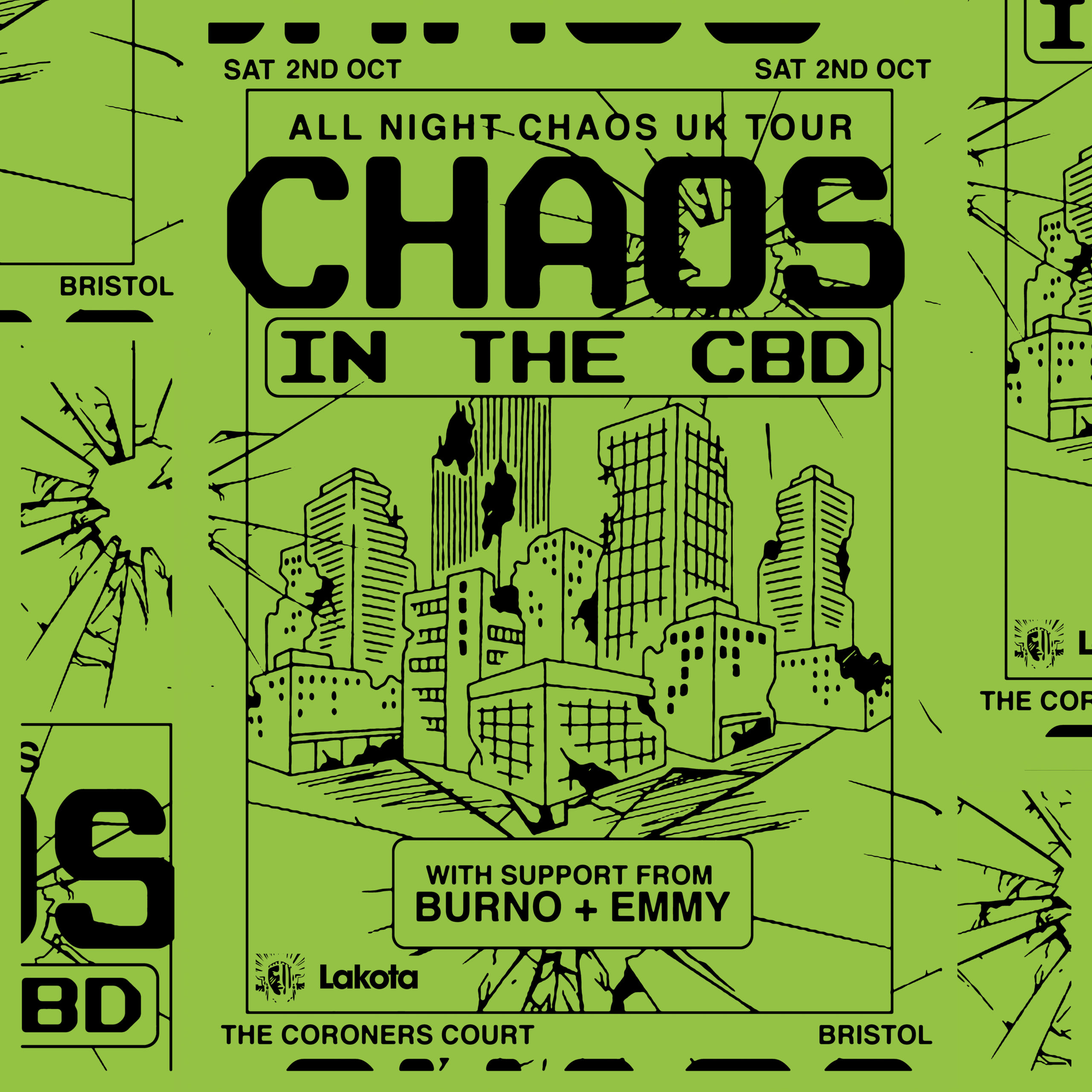 Chaos in the CBD