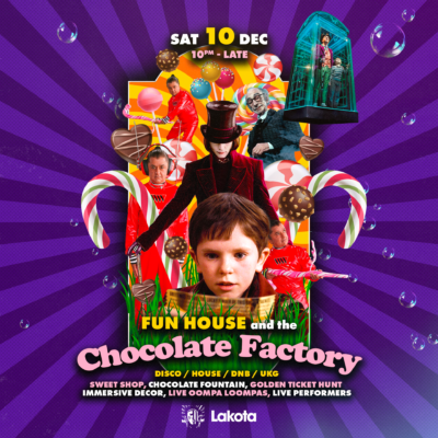 Fun House and the Chocolate Factory
